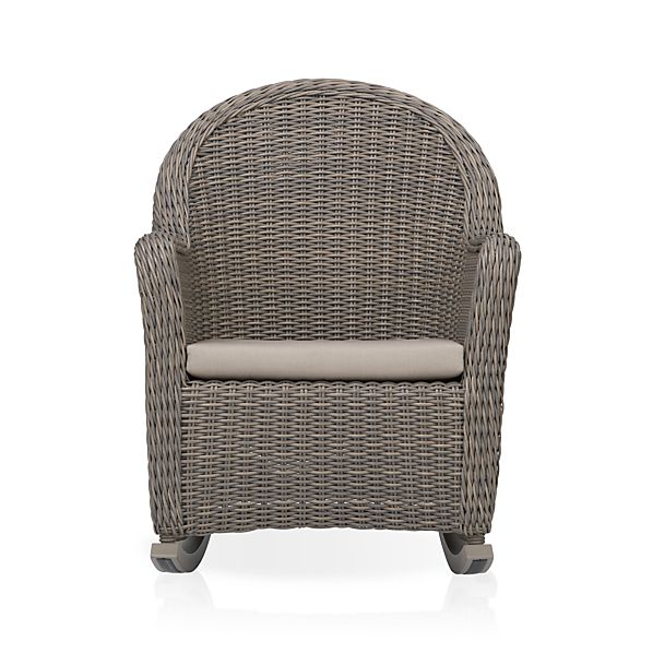 Summerlin Rocking Chair with Sunbrella ® Stone Cushion