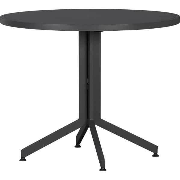 Surf Charcoal Flip-Top Table