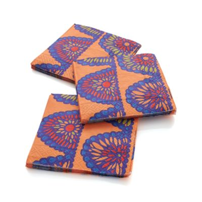 Set of 20 Swag Beverage Napkins