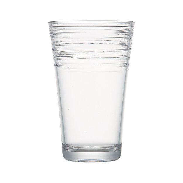 Swirl Acrylic Cooler Glass