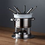 Swissmar Arosa 11-Piece Stainless Steel Fondue Set