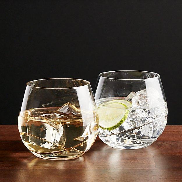 Swizzle Drink Glasses