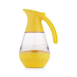 Microwaveable Yellow Syrup Dispenser