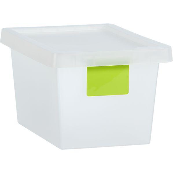 12 Liter Green Tag Store Bin