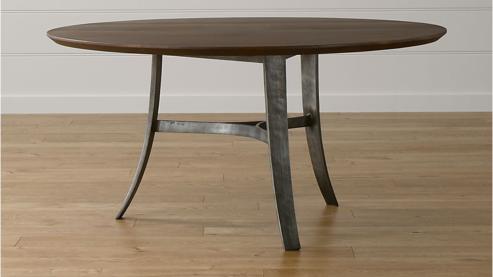 Tahoe 60 Round Dining Table Crate And Barrel