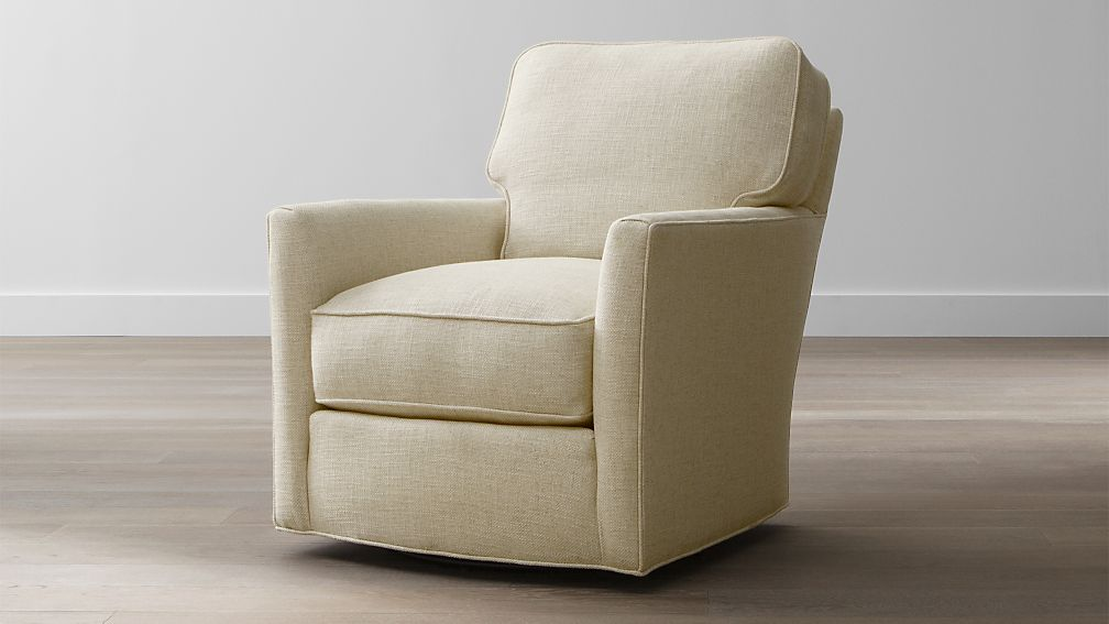 Image gallery swivel armchairs Crate and barrel living room chairs