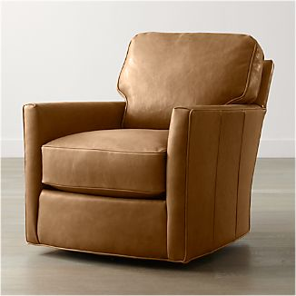 Talia Leather 360 Swivel Chair