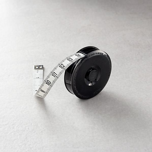 Black 5' Tape Measure
