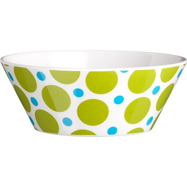 Dot Tapered Bowl