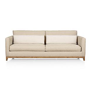 Ankara Grey Wash Frame Chair With Fabric Cushion Evere