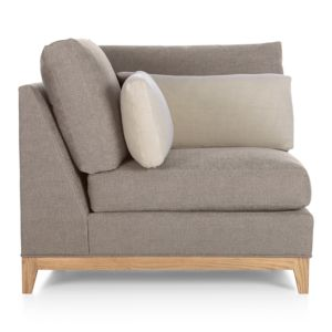 Taraval Sectional Corner with Oak Base