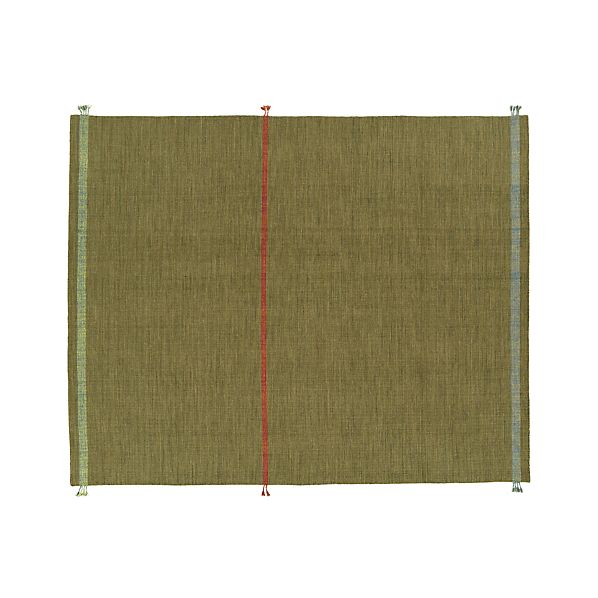 Tassel Green 8'x10' Rug