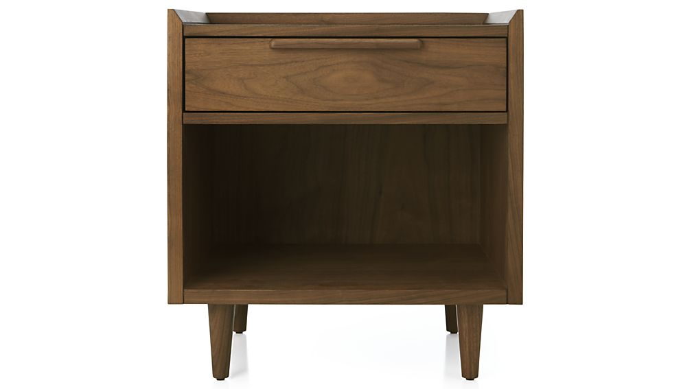 Tate Nightstand In Tate Beds Crate And Barrel