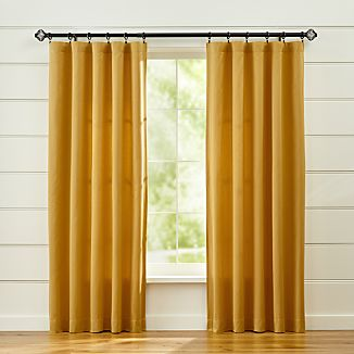Taylor Gold Curtains