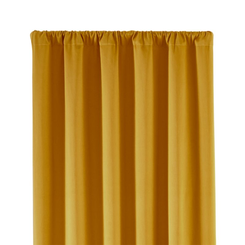 "Taylor 50""x96"" Gold Curtain Panel"