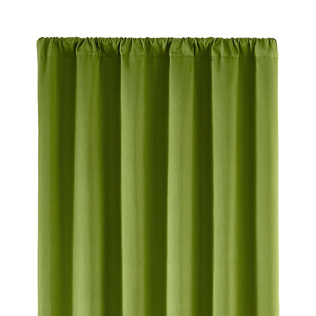 taylor green 50 x84 curtain panel crate and barrel