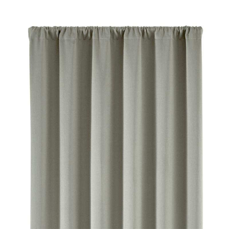 "Taylor Grey 50""x84"" Curtain Panel"