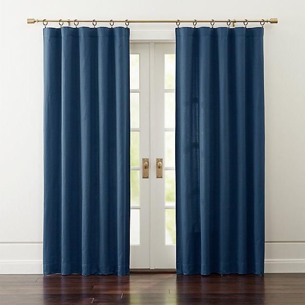 Taylor Midnight Blue Curtains