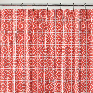 Taza Coral Shower Curtain
