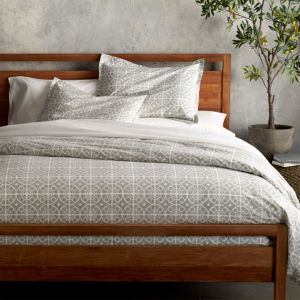 Taza Grey King Duvet Cover