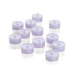 Set of 12 Lavender Tea Lights