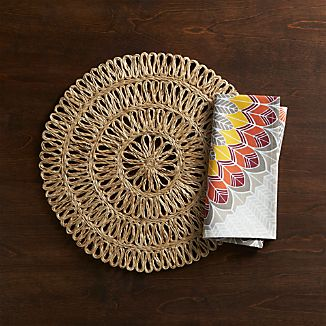 Tempe Placemat and Dakota Napkin