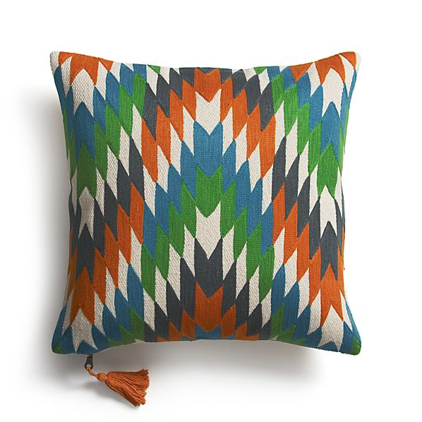 "Tempest 16"" Pillow with Feather Insert"
