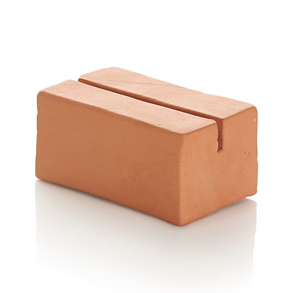 Terra Cotta Place Card Holder