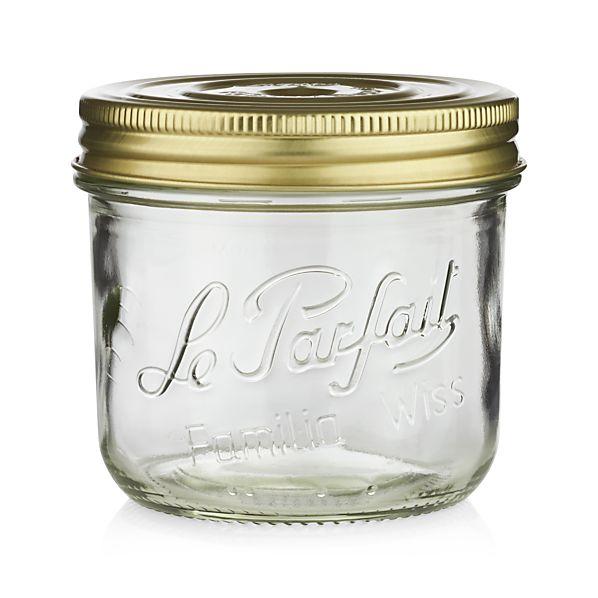 le parfait 18 oz terrine canning jar in food storage. Black Bedroom Furniture Sets. Home Design Ideas