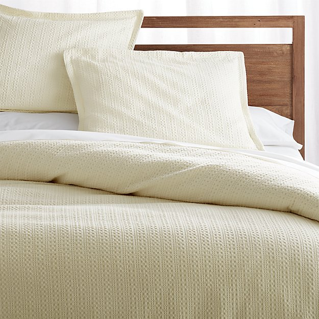 Tessa Cream Full/Queen Duvet Cover