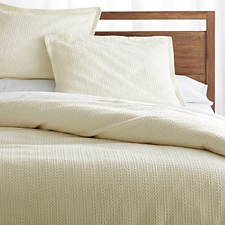 Tessa Cream Duvet Covers and Pillow Shams