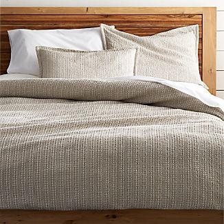 Tessa Flax Duvet Covers and Pillow Shams