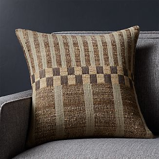 """Thade 18"""" Pillow with Down-Alternative Insert"""