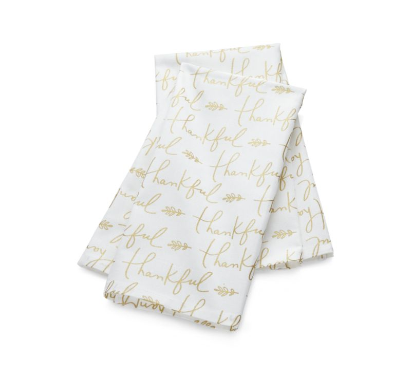 Thankful Dish Towels Set of Two