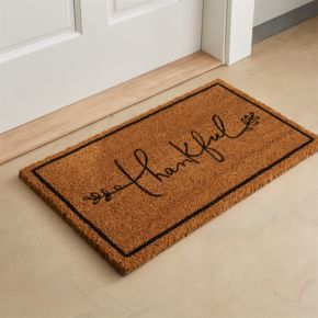 Thankful Coir Doormat
