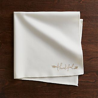 Thankful Cloth Dinner Napkin