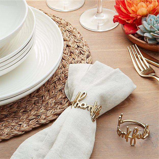 Thankful Gold Napkin Ring Crate and Barrel : thankful napkin ring from www.crateandbarrel.com size 625 x 625 jpeg 104kB