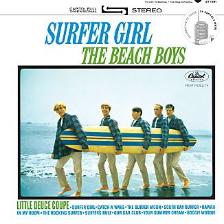 """The Beach Boys """"Surfer Girl"""""""
