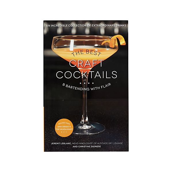 The Best Craft Cocktails Book