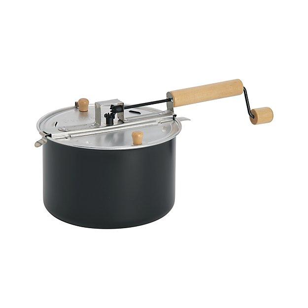 stovetop popcorn popper black crate and barrel. Black Bedroom Furniture Sets. Home Design Ideas