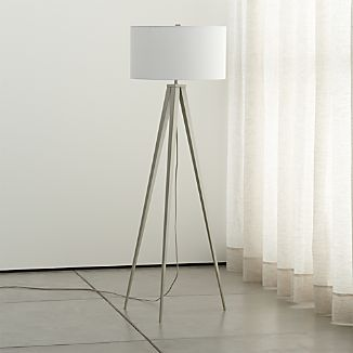 Theo Grey Floor Lamp