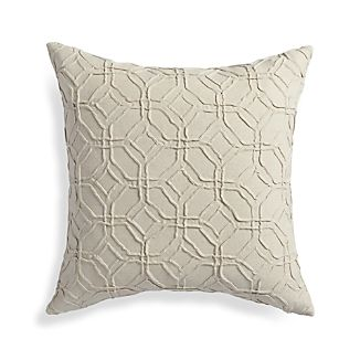 "Theo Ivory 18"" Pillow"