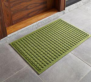 "Thirsty Dots ™ Green 34""x22"" Doormat"