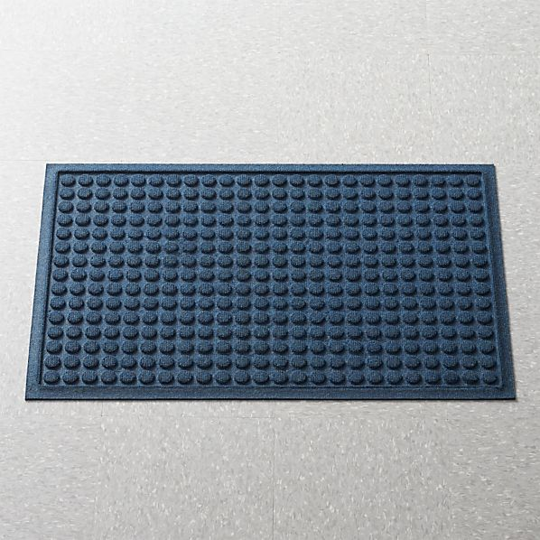 "Thirsty Dots ™ Navy 24""x36"" Doormat"