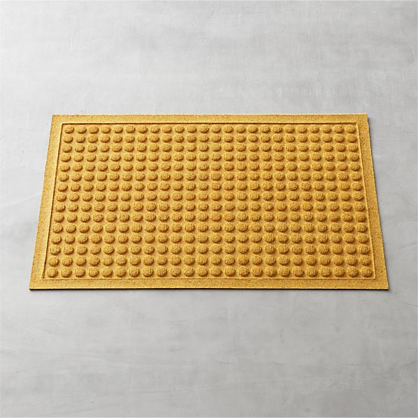 "Thirsty Dots ™ Saffron 34""x22"" Doormat"