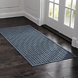 "Thirsty Dots ™ Slate 30""x71"" Doormat"