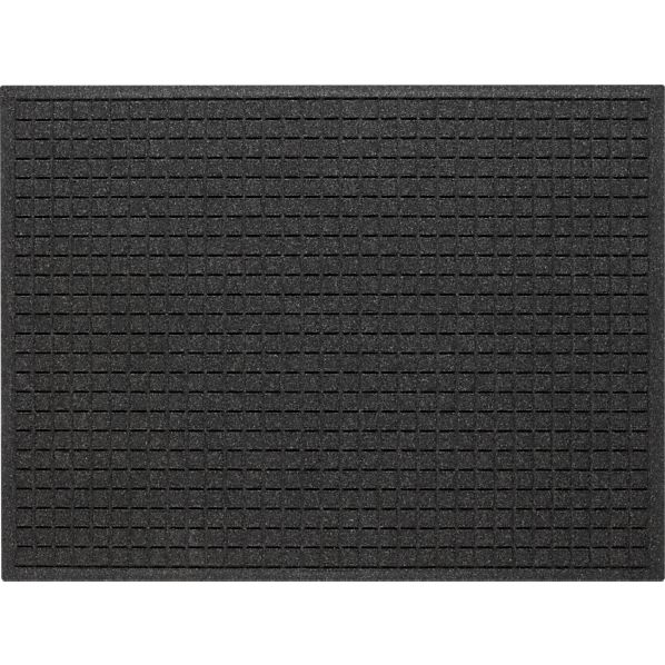 "Thirsty Squares ® Charcoal 35""x46"" Mat"