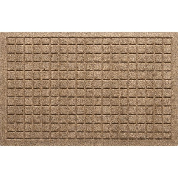 "Thirsty Squares ® Natural 28""x18"" Mat"