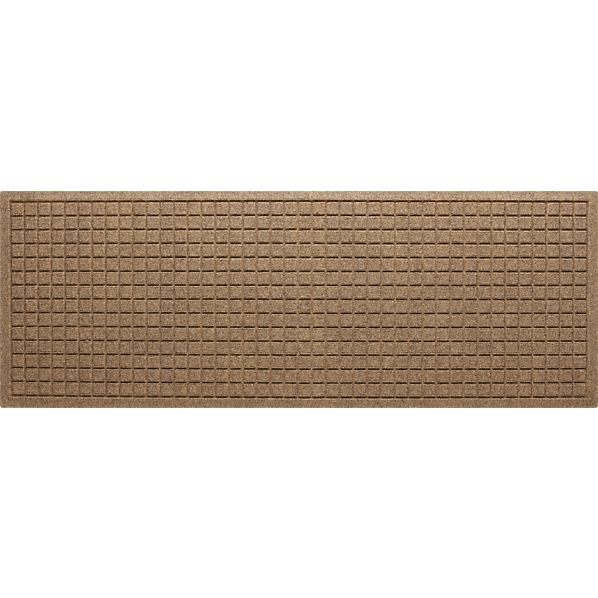 "Thirsty Squares ® Natural 21""x58"" Mat"