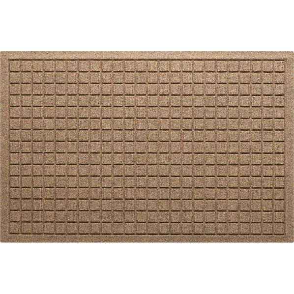 "Thirsty Squares ® Natural 22""x34"" Mat"